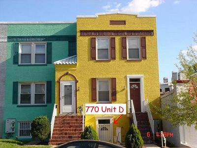 Photo for Charming Apartment In DC's Walkable Parkview Neighborhood.
