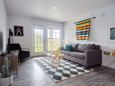 Photo for Chic 2BR at The Domain by Sonder