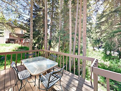 Photo for 3BR/3BA Condo w/ Deck & Creek Views - 5 Miles to Skiing, Vail Village &  Golf