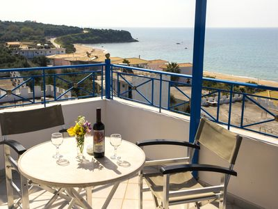 Photo for Villa Rozou with view of the Ionian Sea