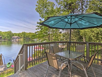 Photo for NEW Waterfront Lake Cabin w/ Boat Dock & Fire Pit!