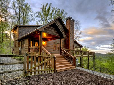 Photo for 3 State View Overlook From this Spectacular Lodge!