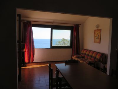 Photo for Holiday home on the sea with views – Accu is Prezzus D fronte mare