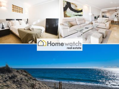 Photo for First line beach holiday house with private garden