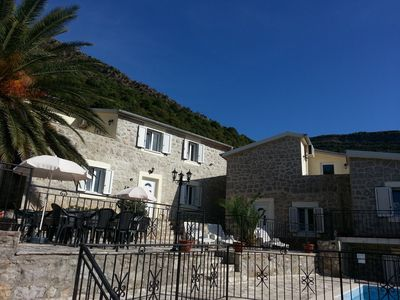Photo for Large Pool, Sun Terraces, Sea and Mountain Views, Sea  2 kms,Family Friendly