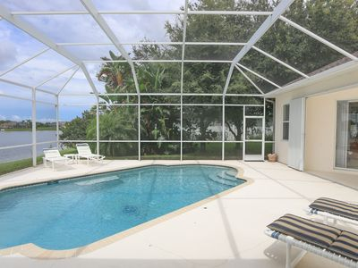 Photo for Lake Marlin 5 - great spacious lake side home with pool