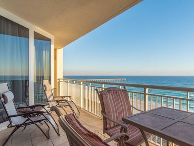 Photo for Stunning Views & Large Balcony at our Pearl of Navarre Condo!