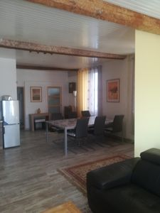 Photo for Apartment loft in village of Corbières de vingrau 15km from rivesaltes