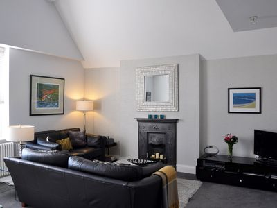 Photo for Luxury Penthouse Apartment - Great Location - Private Parking - Sky TV & Wi-Fi