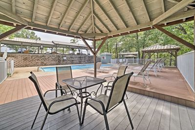 The Notch Estates community has ample on-site entertainment, including a pool!