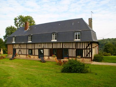 Photo for Normandic cottages,Normandic coast (Deauville) at 30km