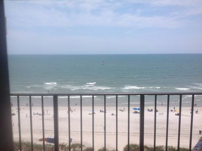 Photo for Oceanfront with the best view of Grand Strand!