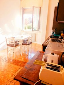 Photo for Apartment + private parking 30 meters from the F. S