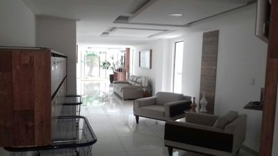Photo for FORT BEACH, APT 2 BEDROOMS WITH AIR CONDITIONING, CEL. 21-98035-7563