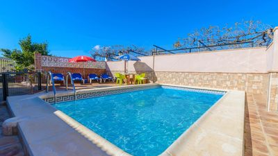 Photo for Villa all comfort with fenced private pool in Ardales