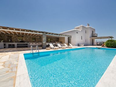 Photo for AB HOUSE VILLA,private pool, view to Kolibithres, Naousa,Paros(AMA:00000474569)