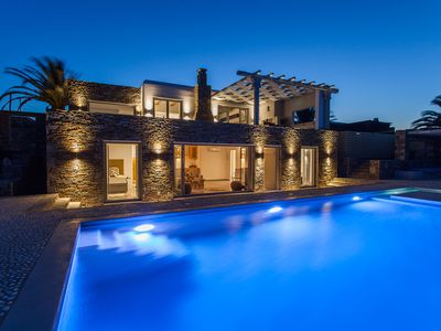 Photo for Luxury Villa Mykonos Paradise Mykonos 4 BEDROOMS 4 BATHROOMS with Private Pool