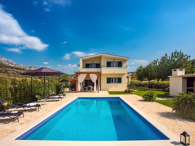 Photo for Villa Roko with  private pool, playground and great surroundings