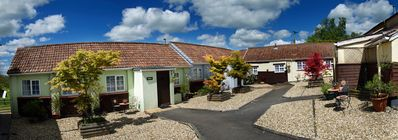 Photo for Coshes Garden Cottage with amazing views of the Devon country side