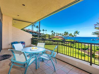Photo for New Listing! Breathtaking Ocean Front Views at Makena Surf A204!