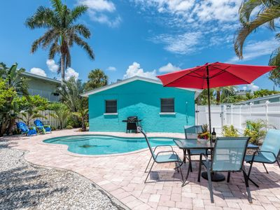Photo for Steps To The Beach, Private & Heated Pool, Renovated - Save On Weeks In Dec!