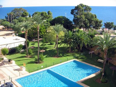 Photo for TOP apartment on TOP location situated on the beach of Calpe