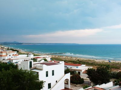 Photo for Beach house Porto Palo Menfi Blue flag. 50 meters from the beach!