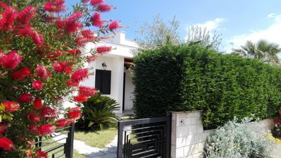 Photo for Villa in Residence Riva Marina 2, 300 meters from the sea, Specchiolla