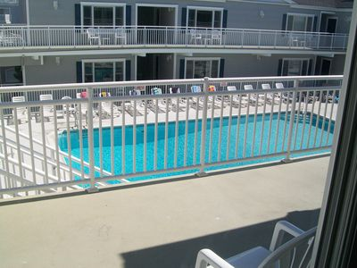 Very Nice Oversized Heated Pool for your enjoyment