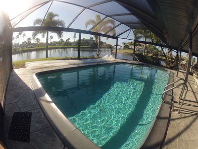 Photo for Serene Waterfront Home With Stunning Views Of Marina And Charlotte Harbor.