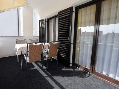 Photo for Two bedroom apartment with terrace Vodice (A-11628-b)