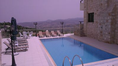Photo for Starlit Villa is a lovely stone-built villa 360 m2 with a private swimming pool