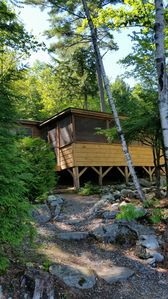 Photo for Cabin on Long Pond, just steps to lake.