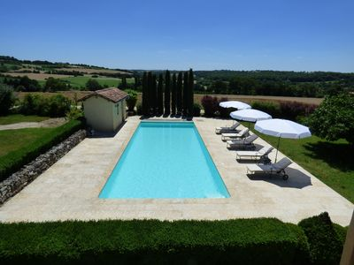 Photo for Peaceful Gascon Cottage With Swimming Pool And Tennis Court - Near Condom