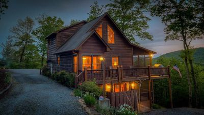 Photo for Mountain Melody: 3 BR / 3 BA cabin in Cherry Log, Sleeps 8