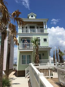 Photo for New House w/ Pool and Ocean Views, Steps from Beach & Restaurants