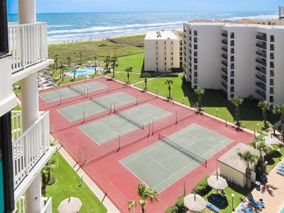 Photo for 3/9-16, 2b/2b South Padre beach front condo spring break Royale Saida
