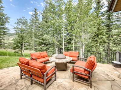 Photo for Ski-in/ski-out luxury home w/ private hot tub & steam showers - outdoor living