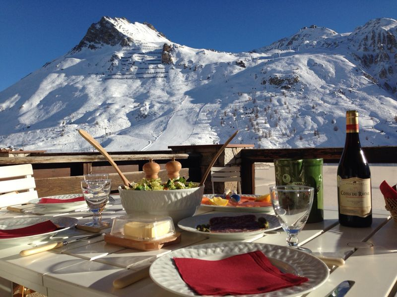 location appartement tignes le lac