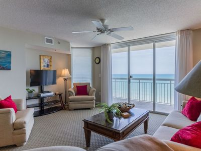 Photo for Discounted Rates! Crescent Shores1602 Pools-Beach OPEN! Amazing condo with WIFI!