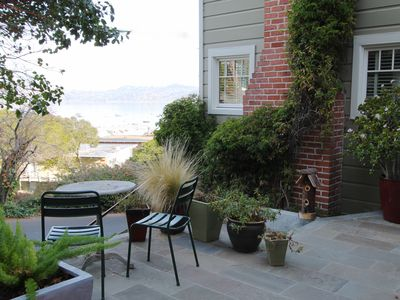 Photo for Sausalito Vintage Cottage with Beautiful Bay View