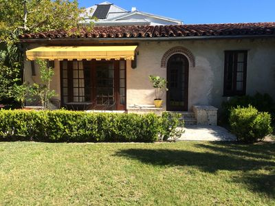 Photo for In town Spanish Style Guest House 100 Yards From The Beach
