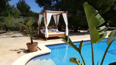 Photo for Fantastic Finca Son Mulet with Pool, Aircondition, Garden, Terrace & WLAN; Parking Available