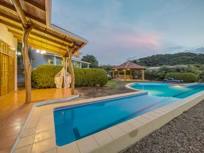 Photo for Your Home Away Ocean view Villa lap-pool. Garden and huge outside area with bbq