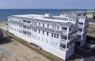 Photo for Seven C's OBX - new oceanfront condo mile post 7.2 - pool Nags Head - KDH