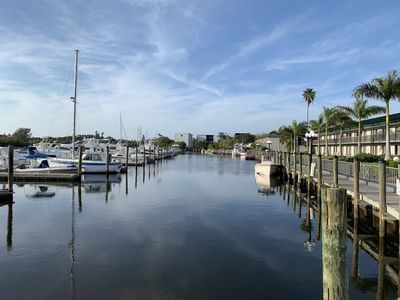 Photo for Waterfront condo with access to pool and dock, minutes from downtown Sarasota