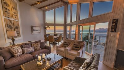 Photo for Oceanfront, Private Beach Access, Luxury Newly Remodeled, Wifi, Gazebo, Fire Pit