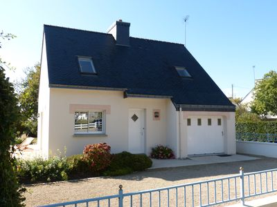 Photo for Villa, seaside, Plouhinec, Morbihan, 2 to 5 people, internet access.