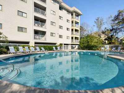 Photo for Beach Serenity is here with tennis, indoor pool, outdoor pools