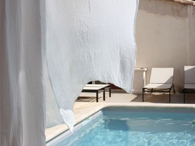 Photo for Charming Provencal mill from the 17th century pool in the heart of the Alpilles